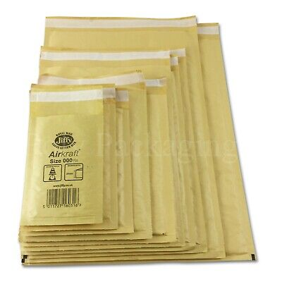 £14 • Buy JIFFY GOLD ENVELOPES Bubble Padded Mailing Bags Large Letter Any Size Any Qty