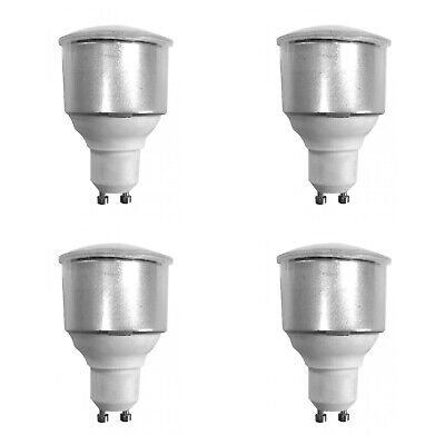 4 X TP24-8722 Long Neck L1/GU10 LED Light Bulbs 3.5 W Warm White 3000K 300 Lumen • 25£
