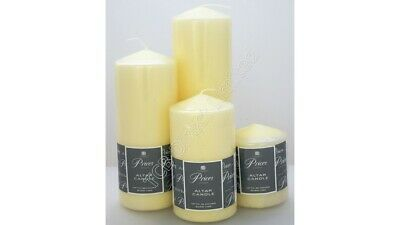 £6.75 • Buy Price's Church Altar Pillar Candle Large Round Table Candles Long Burn Time