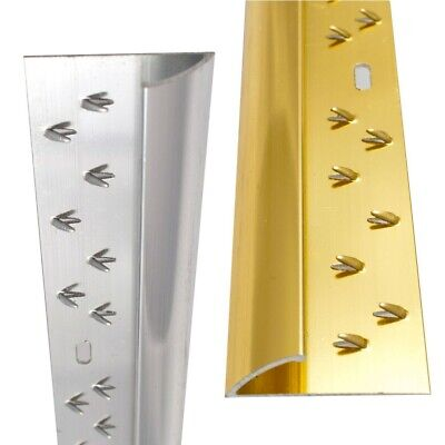 Single Metal Carpet Threshold Door Strip Bar 0.91m Aluminium & Brass • 6.99£
