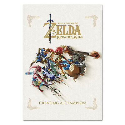 $12.99 • Buy The Legend Of Zelda: Breath Of The Wild - Book Art Poster - High Quality Prints
