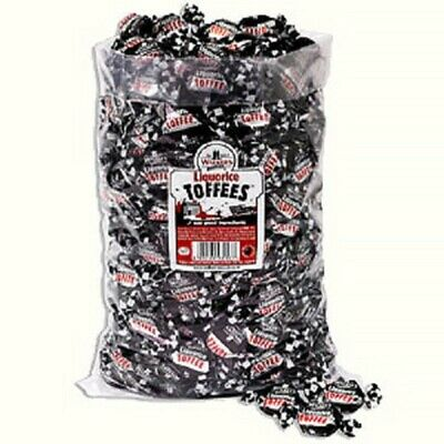 £11.49 • Buy Walkers Nonsuch Liquorice Toffees Wrapped Sweets Pick N Mix Traditional Party