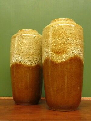 Pair Of Large West German Floor Vases 517-45, Floor Standing • 50£
