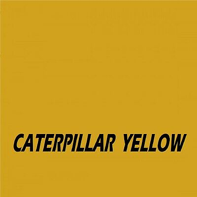 £16.45 • Buy CATERPILLAR YELLOW Machinery Tractor Agricultural Industrial Enamel Gloss Paint