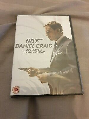 James Bond 007 - Daniel Craig - 2 Movie Boxset - Brand New And Sealed • 6£