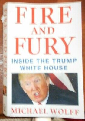 AU9.97 • Buy Fire And Fury Inside The Trump White House Michael Wolff