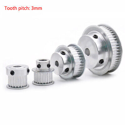 AU16.09 • Buy 3M14T-120T Timing Belt Pulley Pitch 3mm With Step Bore4-20mm For 15mm Width Belt