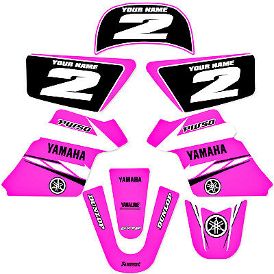 $ CDN60.47 • Buy YAMAHA PW 50 PW50  GRAPHICS KIT DECALS DECO Fits Years 1990 - 2018 Pink