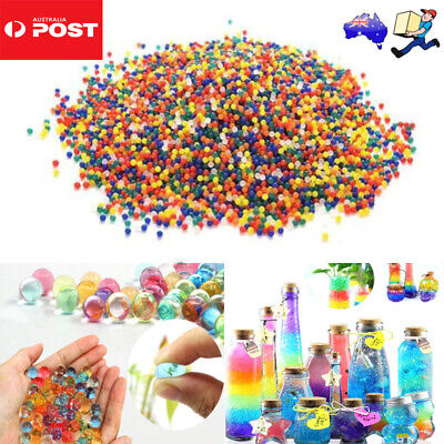 AU6.99 • Buy 100,000pcs Crystal Water Balls Jelly Gel Beads For Vases Orbeez MultiColor AU
