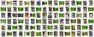 AU12.99 • Buy Microsoft X-BOX Discs - XBOX 360 Video Arcade GAMES - Choose Variations - Used
