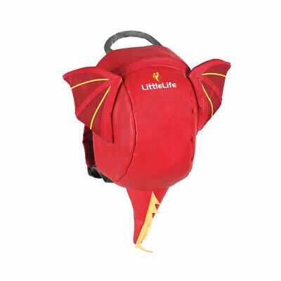 LittleLife Dragon Toddler Backpack With Rein • 17.99£