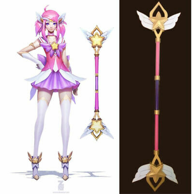 $ CDN70.58 • Buy LOL Lady Of Luminosity Lux Star Guardian Stick Wand Prop Canes Cosplay Weapon