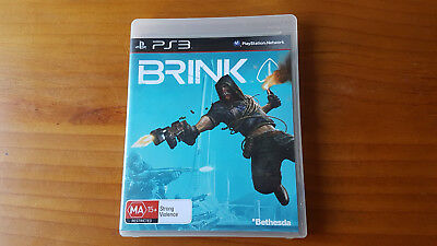 AU18 • Buy Brink, Sony Playstation 3, PS3 Game Complete