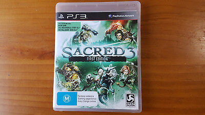 AU38 • Buy Sacred 3 First Edition PS3 Playstation 3