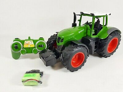 £39.99 • Buy 1/16 RC Truck FARM TRACTOR Digger Bulldozer Remote Control Toy Sound & Light TOY