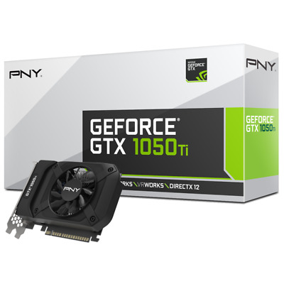 $ CDN332.19 • Buy PNY NVIDIA GeForce GTX 1050Ti 4GB GDDR5 PCI-E Video Card SINGLE FAN DVI DP HDMI