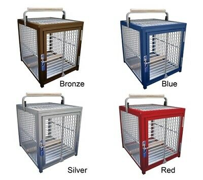 £224 • Buy King's Cages Aluminium Parrot Travel Cage - Small - Available In 4 Colours