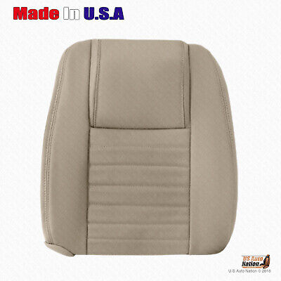 $192.49 • Buy PASSENGER Top Perforated Leather Cover 2005 2006 2007 2008 2009 Ford Mustang TAN
