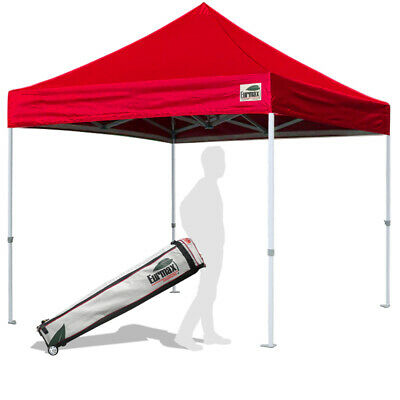 $164.95 • Buy 10x10 Ez Pop Up Canopy Party Gazebo Outdoor Instant Folding Shade Tent Shelter
