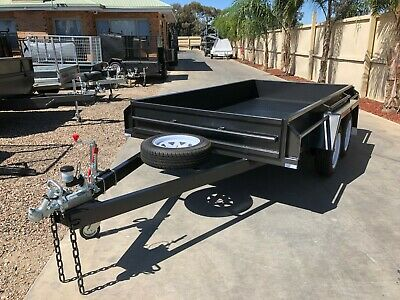 AU3025 • Buy 9X5 Tandem Box Trailer |Fixed Front | 12'' Sides | *Special* | 1990kg Gvm