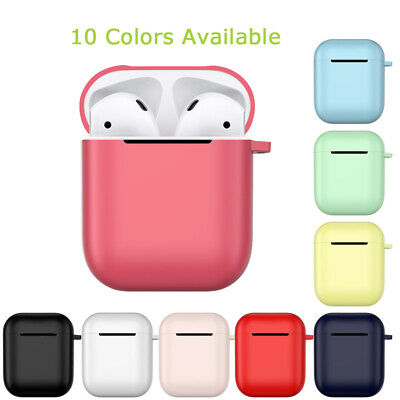 $ CDN4.70 • Buy For Apple AirPods Accessories Protect Silicone Cover Skin Earphone Charger Cases