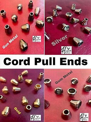 Cord Pull Bell End For Curtain Blinds Bathroom Light Switches 4 Colours V Qnt • 2.89£