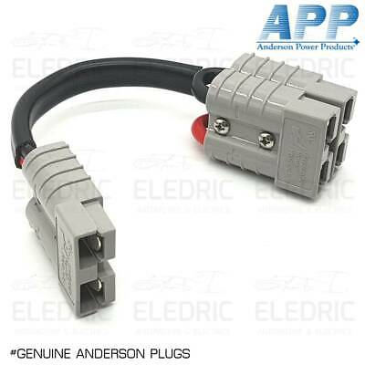 AU22.50 • Buy Genuine Anderson Plug Double Adapter Lead 8b&s Twin Cable 12v App X1