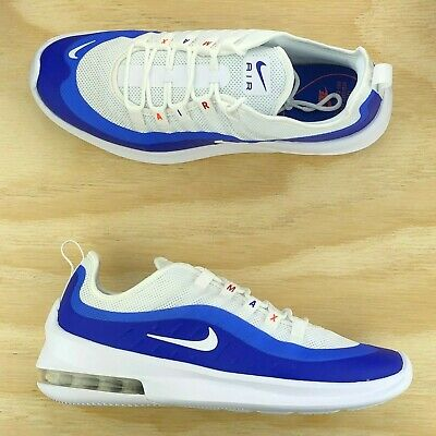 20186615a0cdc Nike Air Max Axis Premium Racer Blue White Running Shoes AA2146-104 Multi  Size •