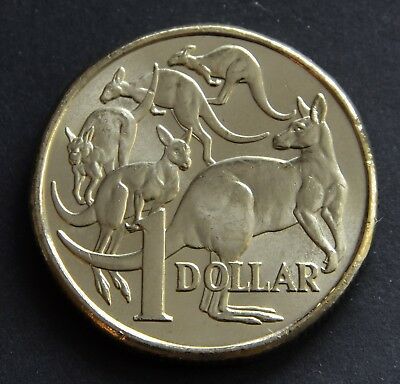 AU3.65 • Buy 2018 $1 Dollar MOR Coin UNC Mob Of Roos. From A Royal Australian Mint Bag.