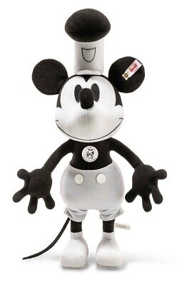 $411.71 • Buy Steiff Steamboat Willie Mickey Mouse 90th Anniversary Limited Edition - 354458