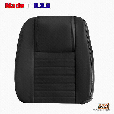 $197.49 • Buy 2005 TO 2009 Ford Mustang Driver TOP Perforated Leather Cover In Dark Charcoal