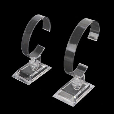 £2.63 • Buy Clear Acrylic Watch Bracelet Display Holder Stand Rack Retail Shop Showcase 1Pc