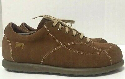 £88.52 • Buy Camper Pelotas Ariel Casual Shoes Brown Suede Mens Size EU44/US10