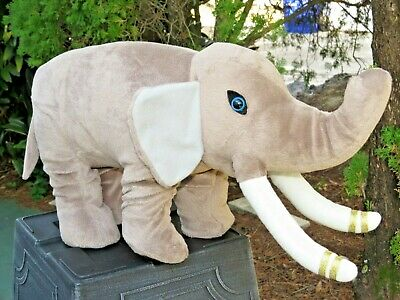 $ CDN18.45 • Buy VERY RARE LARGE FAT Gray Circus Elephant Plush SUPER SOFT Stuffed Animal Doll
