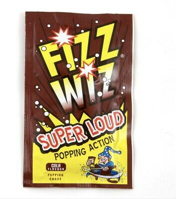 Fizz Wiz Cola Space Dust Popping Candy X 50 Party Bags • 12.48£