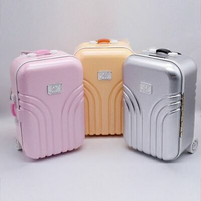 AU19.86 • Buy Baby Doll Travel Suitcase Fashion Plastic For 18 Inch Girl Kids Doll Accessories