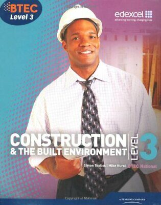 £51.25 • Buy BTEC Level 3 National Construction And The Built Environment Student Book ...