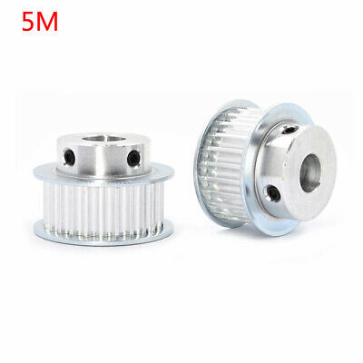 AU11.92 • Buy 5M10-28T Timing Belt Pulley Pitch 5mm With Step Bore4-20mm For15/21mm Width Belt