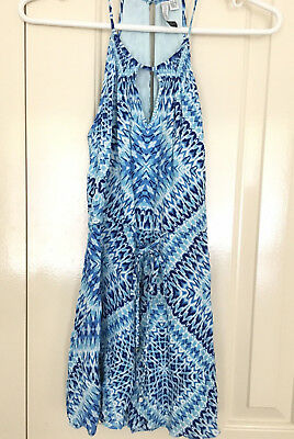 AU40 • Buy Forever New Jumpsuit, Playsuit, Summer Clothing Size 6, Party, Blue As New
