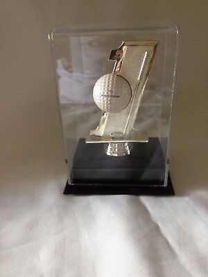 Golf Ball Display Case W/ #1 Feature • 17.85£