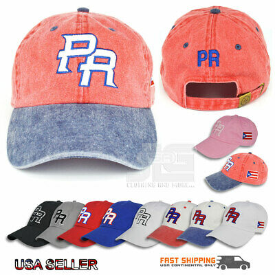 ccca04ea3680c PUERTO RICO Dad Hat Cotton PR Hat Style Baseball Cap Polo NEW • 15.29