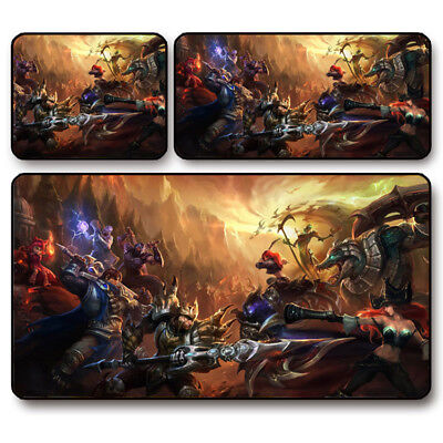 AU14.59 • Buy Large Mouse Pad Mat Rubber Mousepad Optical Laser Mouse MIC For Overwatch LOL CF