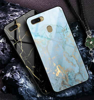AU14.59 • Buy OPPO AX7 AX5 R15 R17 Pro R11 F1s A57 A73 A9 2020 Case Cover Luxury Marble Shell