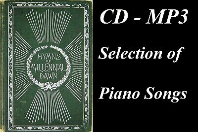 $21.16 • Buy 1902 Hymns Of The Millennial Dawn - CD MP3 Piano Cover Selection