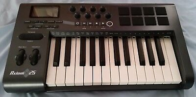 $42.99 • Buy M-Audio Axiom 25 Keyboard Not Working For Parts AS IS