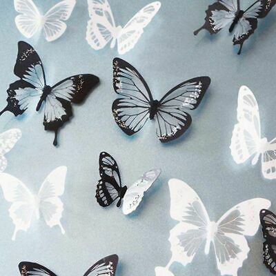 £3.61 • Buy Wall Stickers Summer Spring Room Decorations Butterflies For Girls Room Beauty