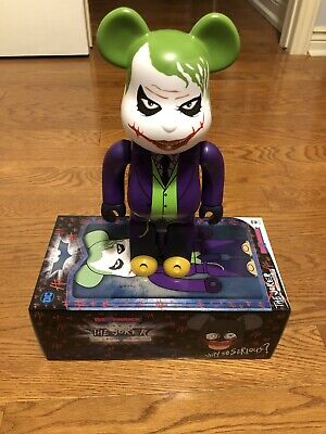 $650 • Buy Authentic The Joker Laughing Version 400% Bearbrick Be@rbrick Medicom Batman