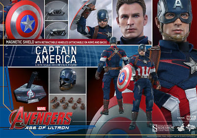 $ CDN714.92 • Buy Hot Toys MMS281 1/6 Avengers 2 Age Of Ultron Captain America MISB New BEST DEAL