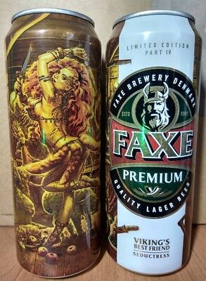 $ CDN5.29 • Buy FAXE 450 Ml Beer Can From Russia 2018 VIKING Seductress Limited Edition Part IV