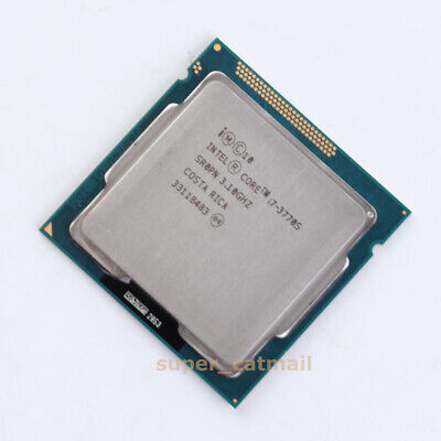 Intel Quad-Core Core I7-3770S CPU Processor SR0PN 3.1GHz LGA 1155 100% Test • 82£
